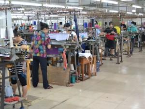 綿セーター工場