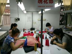 綿ニット工場