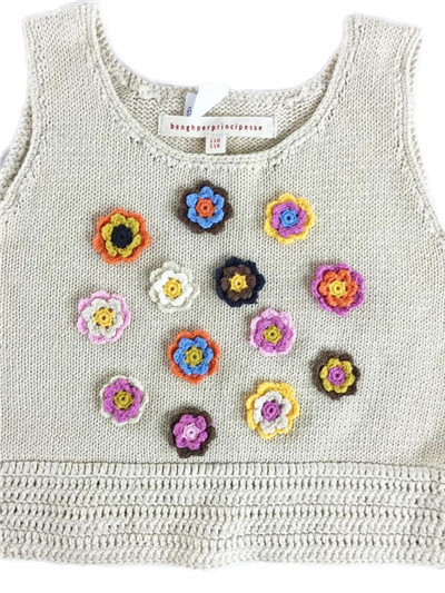 hand crochet sweater | Fine Knitting