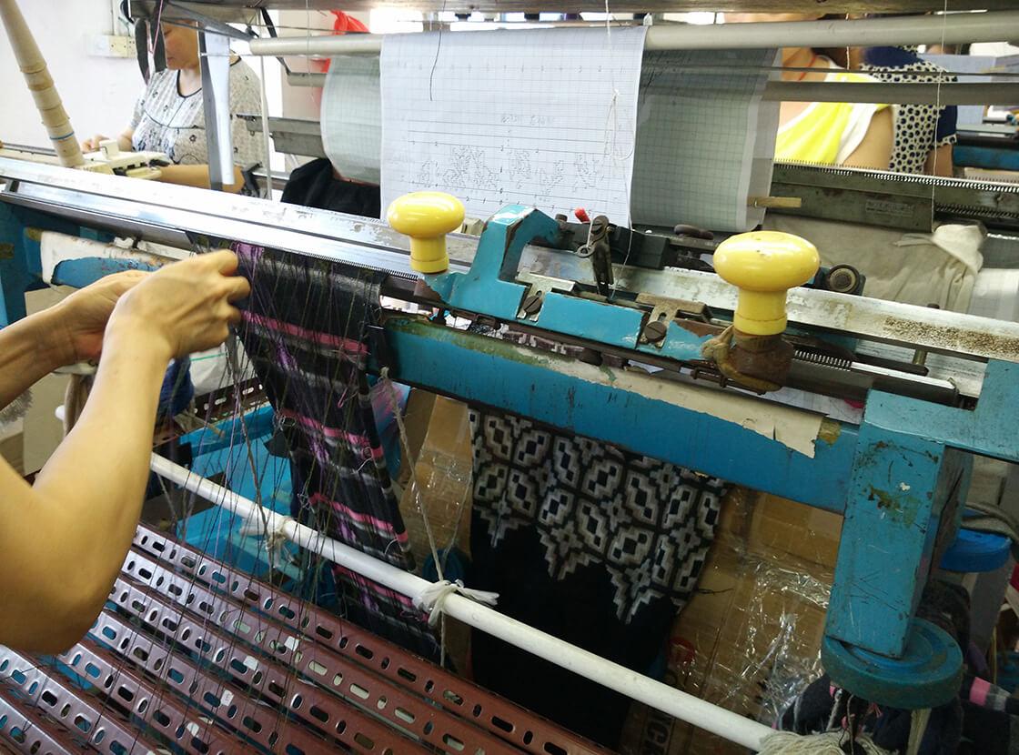 2. Intarsia Knitting