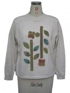 手刺繍セーター縫製工場